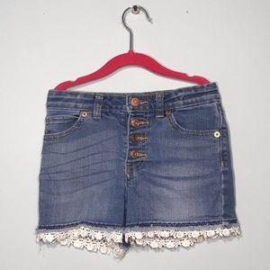 Girls denim shorts!